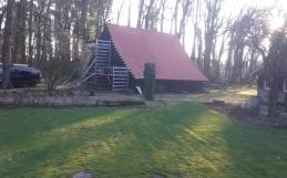 Renovatie van het dak van de schoppe